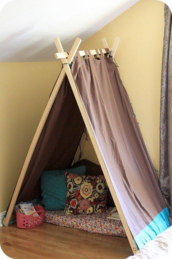 Детская палатка своими руками